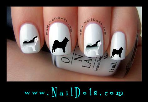 Dog Breed Nail Decals Dog Breed Nail Art Decals For Nails Nail