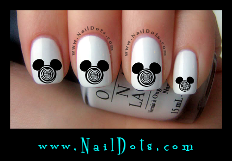 Mickey Nail Decals
