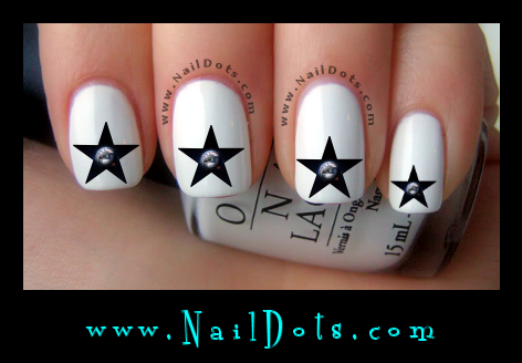 Earth Star Nail Decals - GSEarth