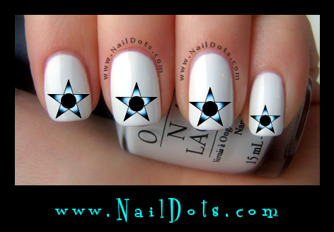 Galactic Star Nail Decals - GS4