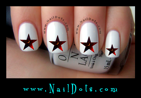 Galactic Star Nail Decals - GS5