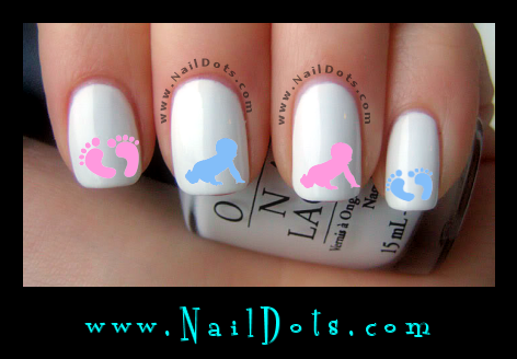 Baby Nail Art Image Collections And Design Ideas Pretty Decals