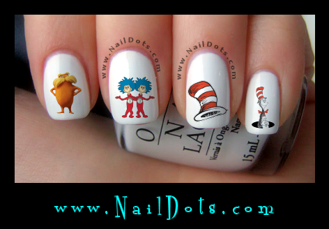 Dr. Suess Nail Decals