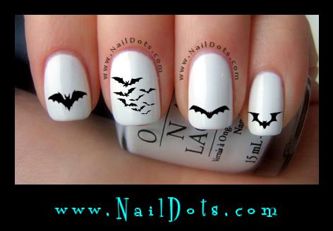 Halloween Nail Decals Nail Decals Nail Dots Nail Stickers