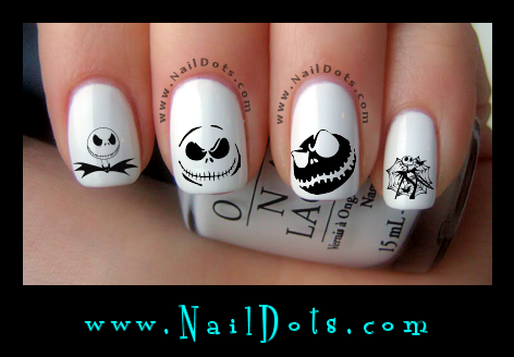 Halloween Nail Decals Nail Decals Nail Dots Nail Stickers