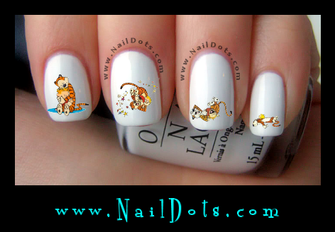 hug day Nail Decals