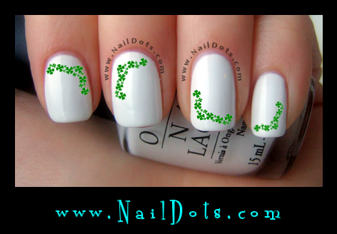 Clover Swag Nail Decals