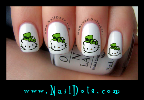 Hello Kity Nail Decals