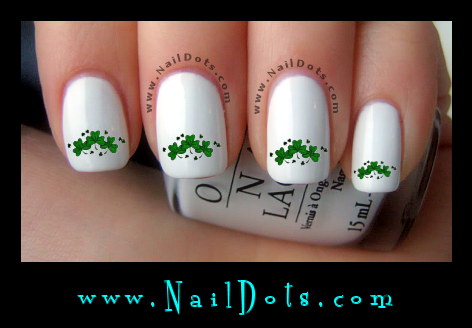 Shamrock Trio Nail Decals
