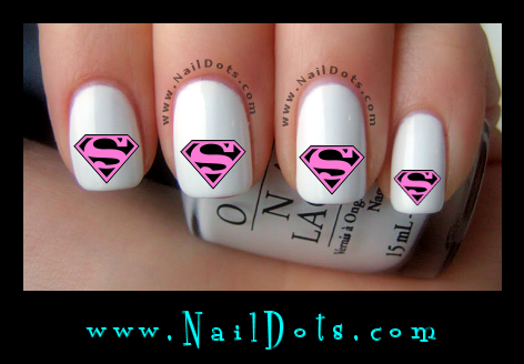 Superwoman Nail Decals