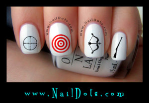 Hunting nail decals