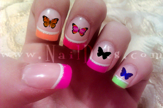 Butterfly Nail Decal