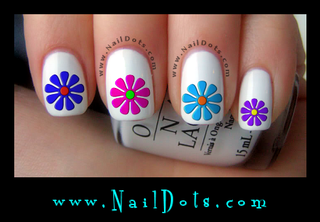 Daisy Set 2 Nail Decals