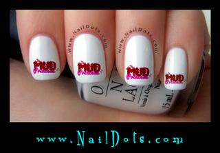 Mud Princess Nail Decal - MPB
