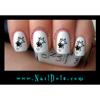 Star Grouping Nail Decals