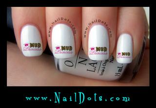 Mud Princess Nail Decal - MPP