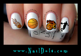 Basketball Collection 1 Nail Decals