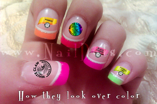 The Claw Nail Decal