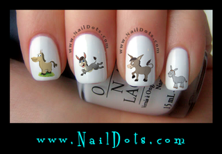Donkey Nail Decals