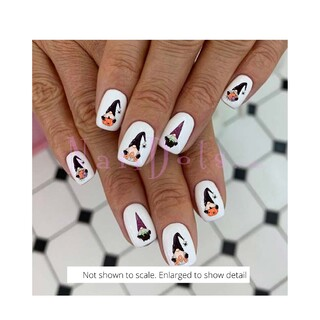 Halloween Gnome Nail Decals