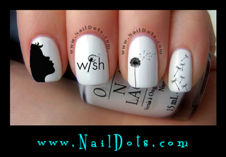Dandelion Wish Decals