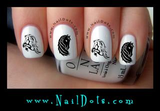 Horse Nail Decal HD