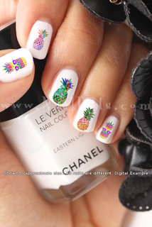 Pineapple Nail Decal