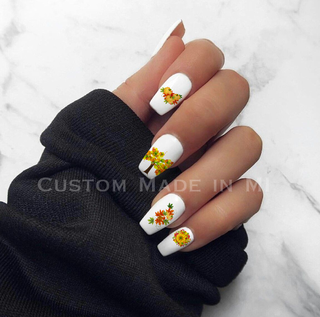 Fall Colors Nail Decals