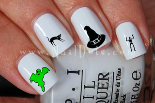 Halloween Set 1 Nail Decals