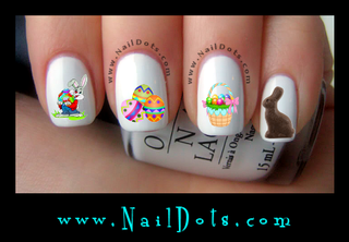 Easter Nail Decals