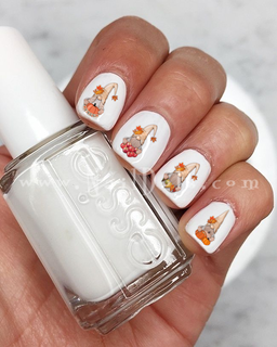 Fall Gnome Nail Decals