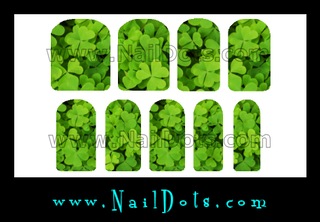 Shamrock Nail Wraps - Set 2
