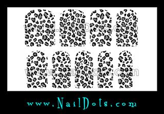 Leopard Nail Wraps