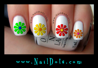 Daisy Set 1 Nail Decals