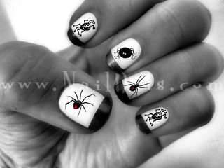 Spider Nail Decals