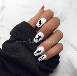 She Devil Nail Decals