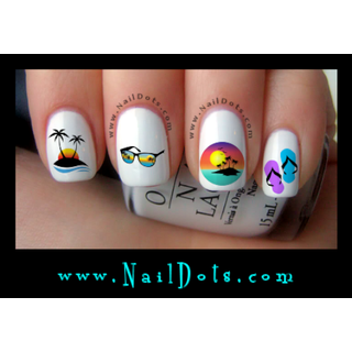Summertime Nail Decals