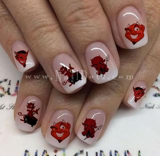 Devil Nail Decals