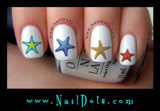 Starfish Nail Decal