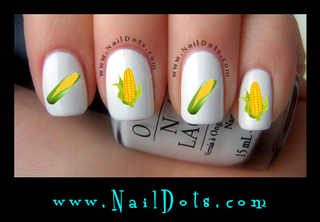 Corn Nail Decals