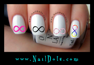 Infinity Nail Decal