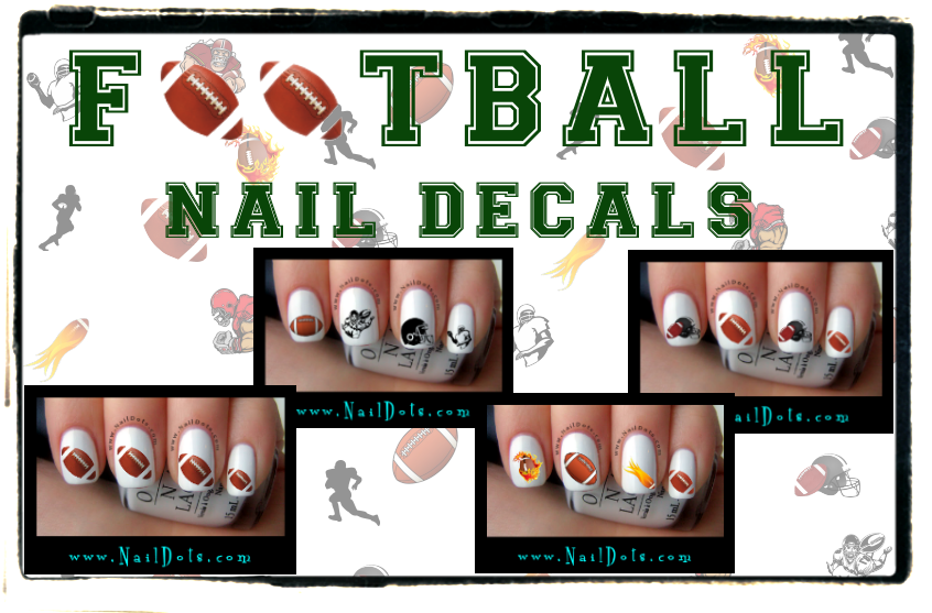 Football nail stickers best nails 2018 football nail art stickers sticker creations prinsesfo Images