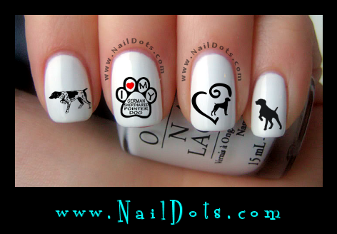 German Shorthair Nail Decals