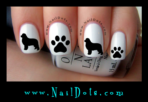 Newfie Nail Decals