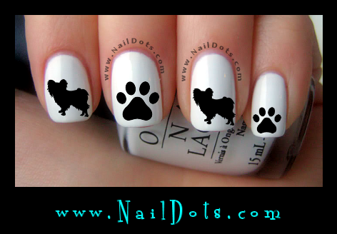 Papillon Nail Decals