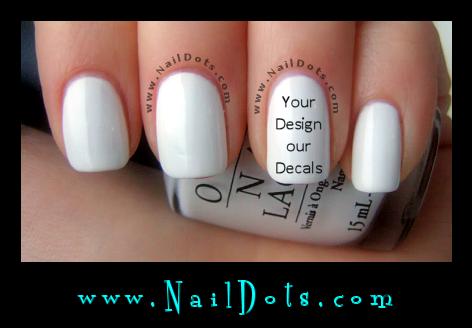 Nail Decals - Nail Dots - Nail Stickers - Nail Art - Cute Nails