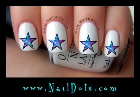 Star Nail Decals