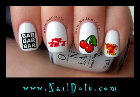Pretty nail Decals - Nail Decals - Nail Dots - Nail Stickers - Nail