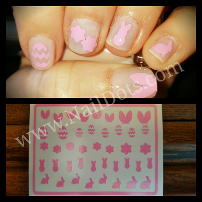 Easter Vinyl Nail Decals